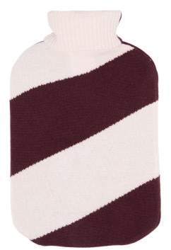 Allude Cashmere Cover Hot Water Bottle - Womens - Pink Multi