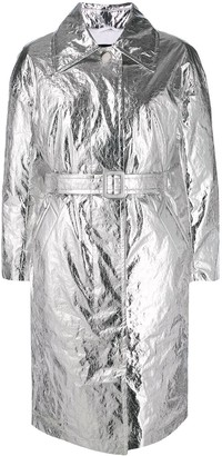 Ienki Ienki Foil-Effect Metallic Coat