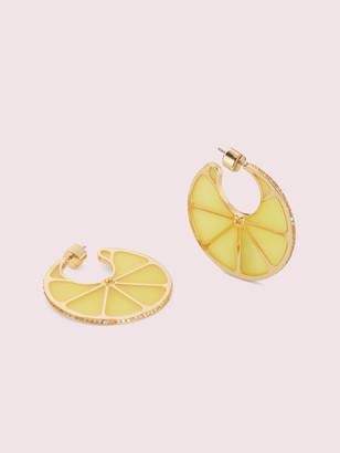 Kate Spade Tutti Fruity Lemon Hoops