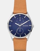Skagen Holst Brown Chronograph Watch
