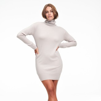 Naadam Cashmere Turtleneck Dress