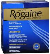 Rogaine Men's Extra Strength Hair Regrowth Treatment, Unscented 3 month supply