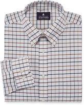 STAFFORD Stafford Travel Long-Sleeve Wrinkle-Free Oxford Dress Shirt