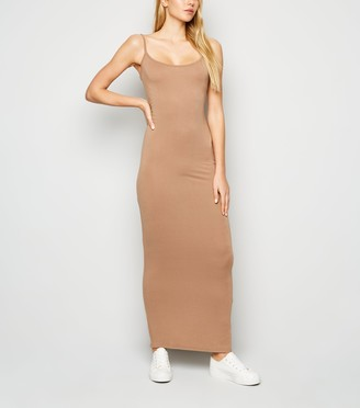 New Look Strappy Bodycon Maxi Dress