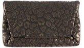 Lanvin Leopard Flap Clutch