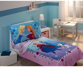 Disney Frozen 4-Piece Toddler Bed Set - Multicolor