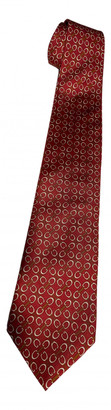 Gucci Red Silk Ties