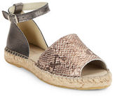 Kenneth Cole New York Sammy Colorblocked Espadrilles Sandals