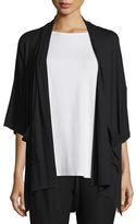 Eileen Fisher 3/4-Sleeve Kimono Cardigan, Plus Size