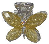 B.ella Mini Jaw Clip decorated with Beads and Rhinestones P864175-0028lime