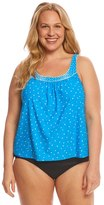 CoCo Reef Plus Size Clarity Dots Ultra Fit Tankini Top (C/D/DD Cup) 8151308