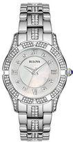 Bulova Ladies Swarovski Crystal Bracelet Watch