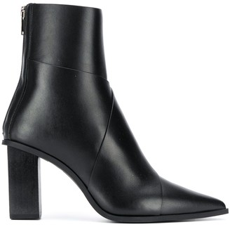 Christian Wijnants Pointed Ankle Boots