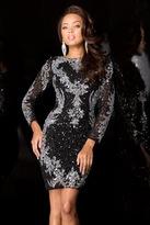 Scala 48645 Dress In Black/Silver