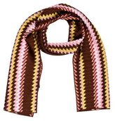 Missoni Chevron Striped Scarf w/ Tags