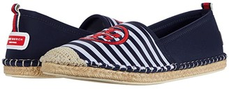 Tory Burch Tory Water Espadrille (Perfect Navy/New Ivory) Women's Shoes