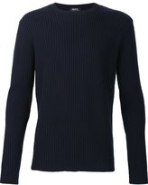 A.P.C. ribbed knit sweater