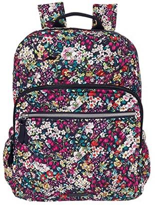 Vera Bradley XL Campus Backpack (Cloud Vine) Backpack Bags