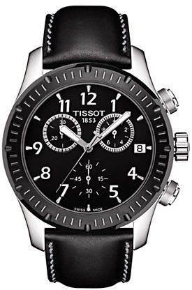 Tissot Mens Stainless Steel V8 Chronograph Watch