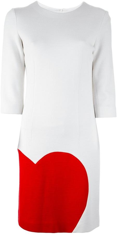 Moschino Vintage Heart dress