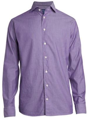 Eton Slim-Fit Solid Dress Shirt