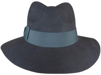 Morgan & Taylor Contrast Felt Fedora Winter Hats