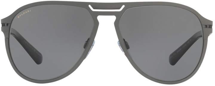 Bvlgari Aviator Sunglasses