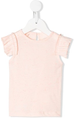 Stella McCartney ruffle sleeves T-shirt