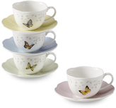 Butterfly Meadow™ Cups and Saucers by Lenox