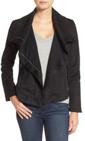 Lucky Brand Faux Suede Moto Jacket