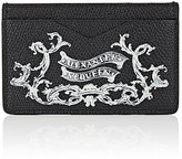 Alexander McQueen Men's Coat-Of-Arms Card Case