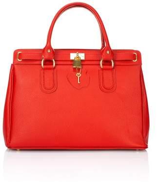 Giorgio Costa Dollaro Top Handle Satchel Bag