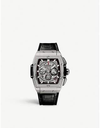 Hublot 641.NX.0173.LR.1104 Big Bang diamond and titanium watch
