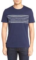 Jack Spade Men's Stripe Print T-Shirt