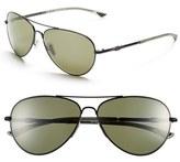 Smith Optics Women's 'Audible - Chromapop' 60Mm Polarized Aviator Sunglasses - Gold/ Polar Bronze Mirror