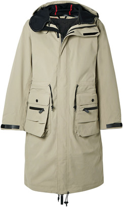 TEMPLA 2l Bio Moss Padded Canvas Hooded Parka