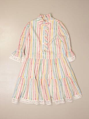 Gucci Striped Cotton Shirt Dress