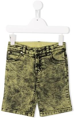 Stella Mccartney Kids Stonewashed Denim Shorts