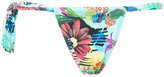 Ermanno Scervino tropical print bikini bottoms - women - Polyamide/Spandex/Elastane - S