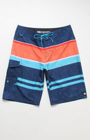 "Reef Layered Striped 21"" Boardshorts"