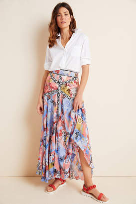 Bhanuni By Jyoti Taylor Embroidered Maxi Skirt