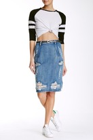 One Teaspoon Freelove Distressed Skirt