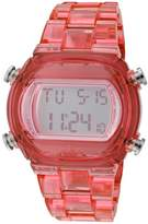 adidas ADH6504 Candy Pink Plastic Bracelet with 44mm Digital Watch New In Box