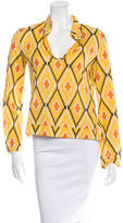 Tory Burch Printed Woven Top