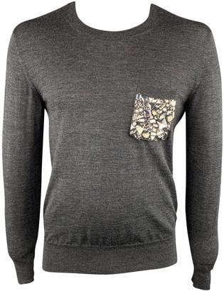 Burberry \N Grey Cotton Knitwear & Sweatshirts