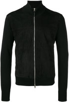 Tom Ford high neck zipped jacket - men - Lamb Skin/Wool - 54