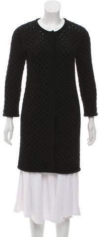 Yigal Azrouel Long Sleeve Knit Cardigan