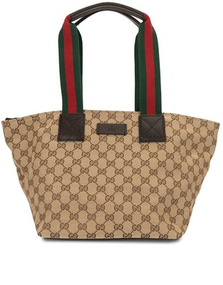 Gucci Pre-Owned Shelly GG Sylvie Webtote bag
