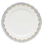 Herend Chinese Bouquet Fish Scale Serving Plate