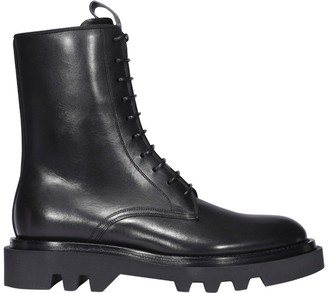 Givenchy Combat Lace Up Boots